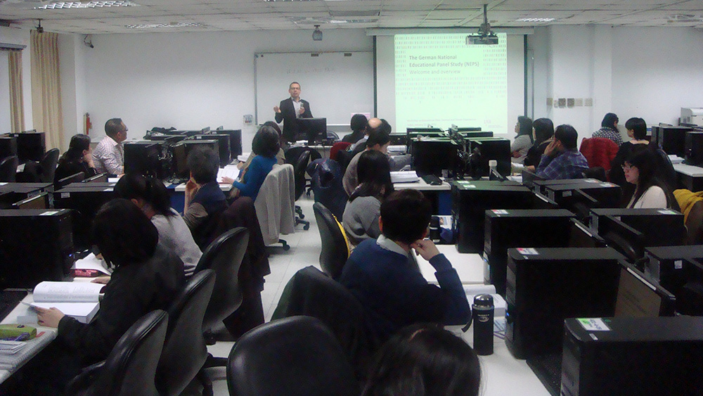 Dr. Daniel Fuß im Center for Educational Research and Evaluation der National Taiwan Normal University